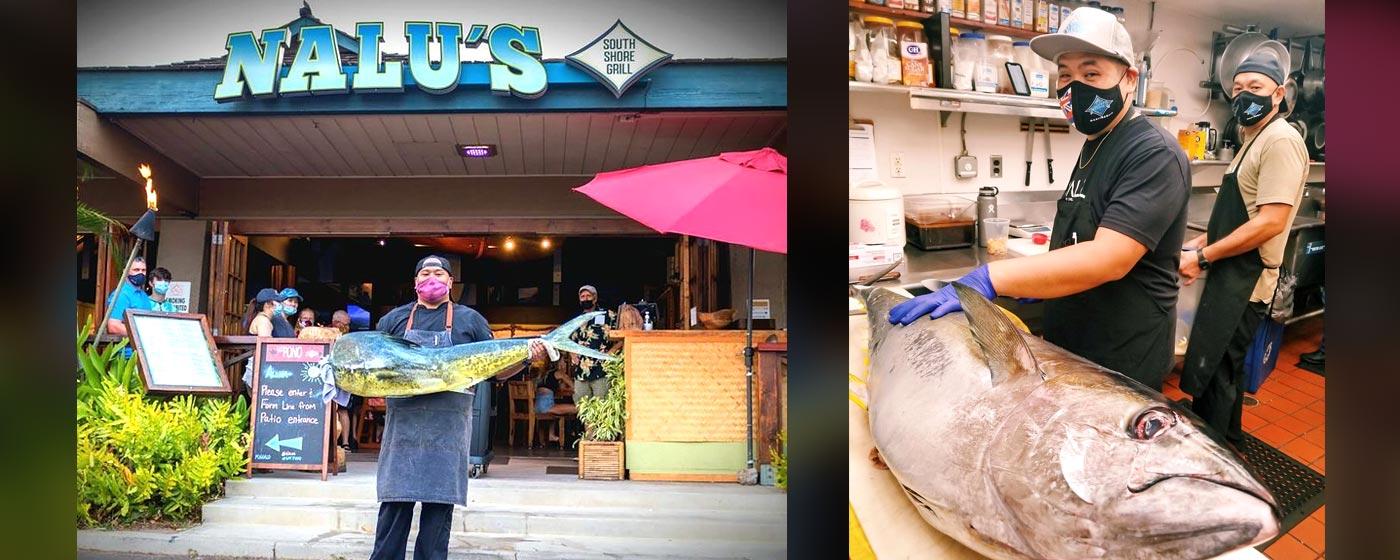 Fresh Fish | Nalu's South Shore Grill Maui